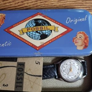 Vintage Fossil Watch 1992